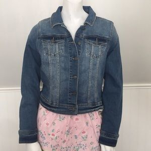 Prana Antique Blue Dree Jean Jacket NWT Dark Denim